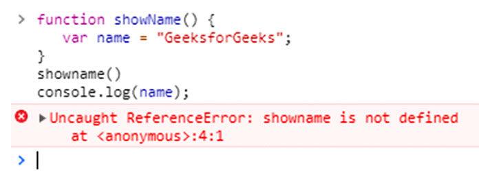 Приведенный ниже код выдаст вам ошибку, потому что