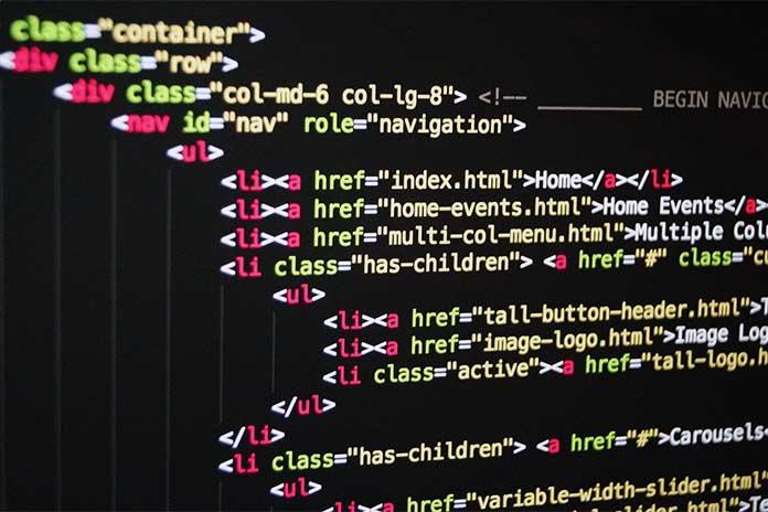 программирования HTML