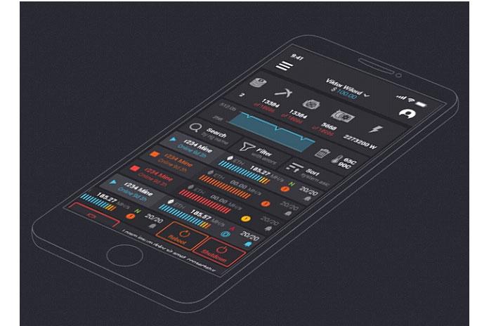 Мобильное приложение Hashr8