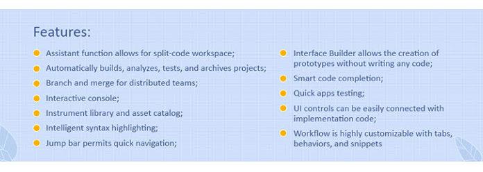 Xcode — это IDE для Mac OS