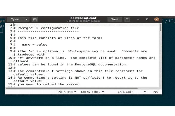 доступ ксерверу PostgreSQL