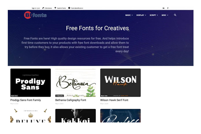 By fonts