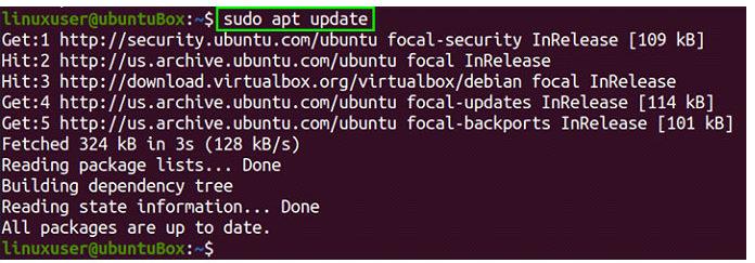 Чтобы установить VirtualBox через репозиторий пакетов