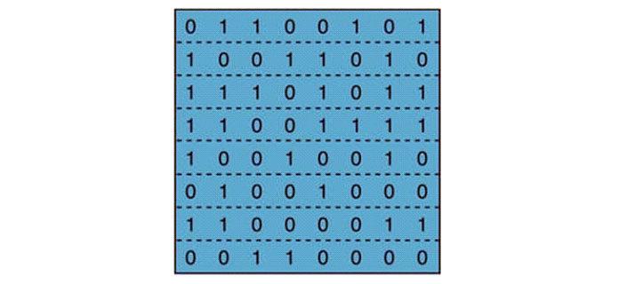 Хранилище содержит миллионы байтов памяти