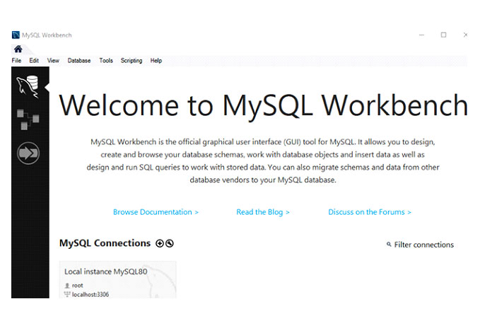 Индексы сиспользованием MySQL WorkBench