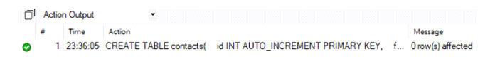 ИзвыводИзвывода видно, что таблица ииндексы созданыа видно, что таблица ииндексы созданы