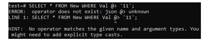 Как только мыпытаемся найти записи сцелым числом всписке «дополнительных» столбцов