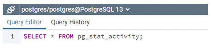 Таблицы каталога PostgreSQL предоставляют встроенное