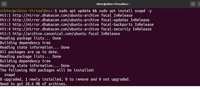 Впоследней версии Ubuntu поумолчанию настроен