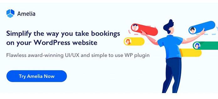 Amelia WordPress Booking Plugin