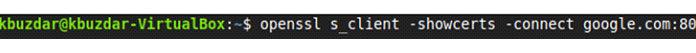 Мызаменили WebServerURL наgoogle.com иPortNumber на80, как показано наизображении ниже