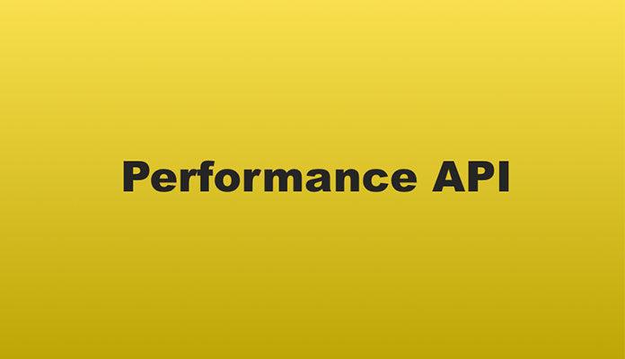 Performance API