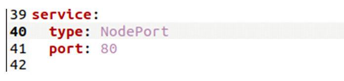Рекомендуется использовать NodePort