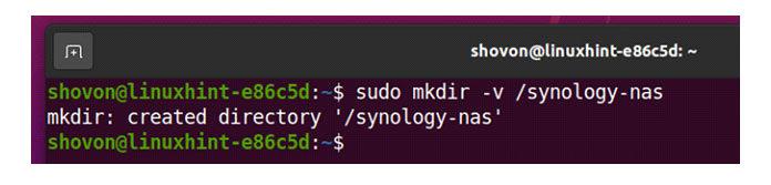 synology-nas для монтирования общих папок навашем компьютере следующим образом