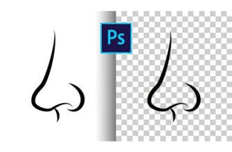 удалить фон в Photoshop