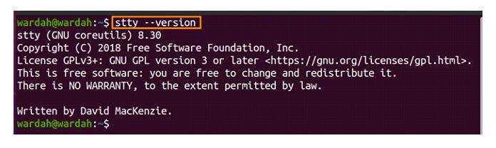 –version option