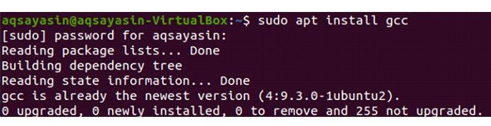 Чтобы работать сконстантами, мыдолжны сначала смонтировать некоторый компилятор языка C