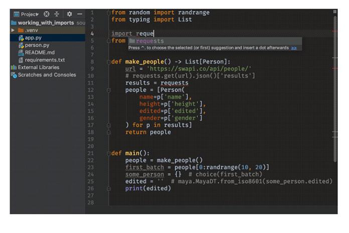 Чтобы скомпилировать свой код, вам также необходимо загрузить интерпретатор Python