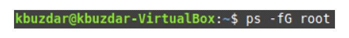 Например, внашем случае мызаменили его на«root»