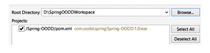 Отсюда используйте MySQL для создания новой схемы с именем spring