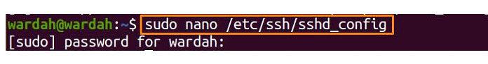 Первое решение— включить пароль входа всистему для доступа кSSH-серверу