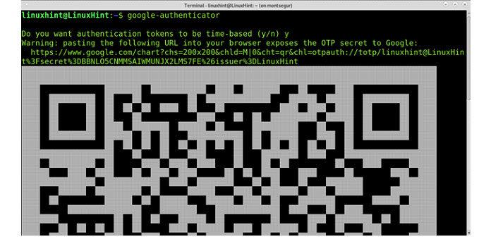 После установки запустите Google Authenticator