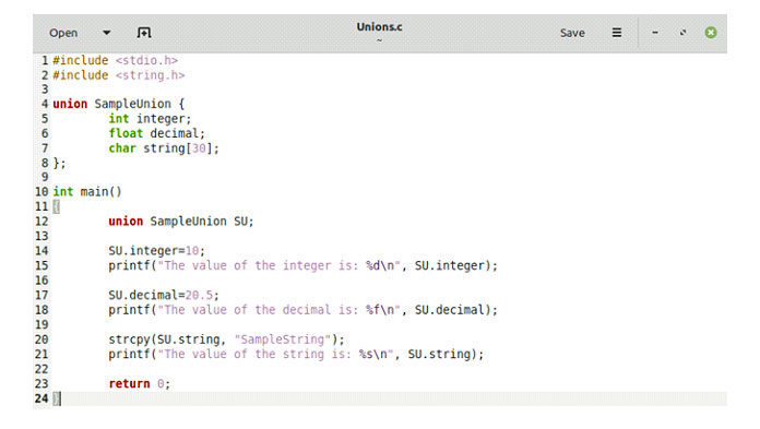 Теперь давайте посмотрим наисправленную версию нашего кода объединения
