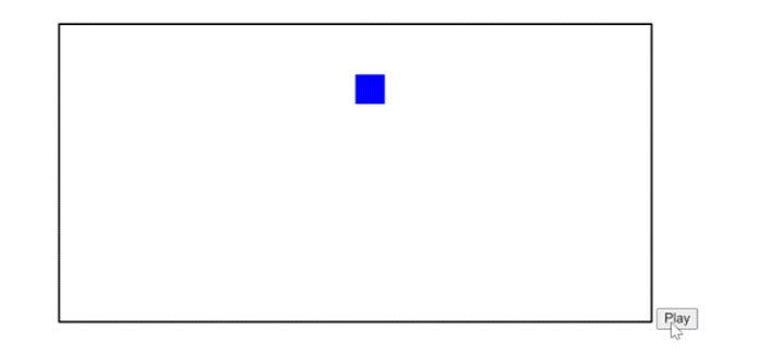 Теперь мывидим, что если мынажмем кнопку, мыполучим квадрат