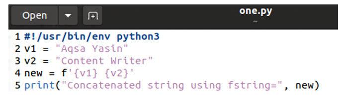 Теперь откройте терминал ивыполните файл кода спомощью ключевого слова