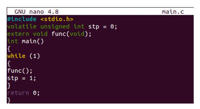 Восновном файле есть одно целое число без знака