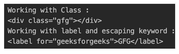 Использование классов иметок как HTML