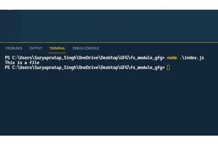 Метод fs.readFileSync используется для чтения данных изфайла
