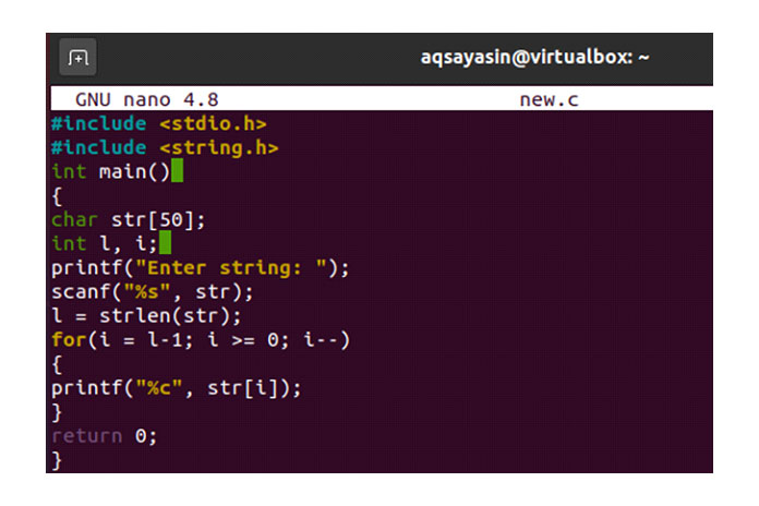 Пришло время скомпилировать код ипроверить его вывод