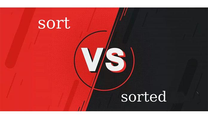 Sort () и Sorted () в Python