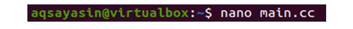 Теперь файл открыт вредакторе, вставьте внего код