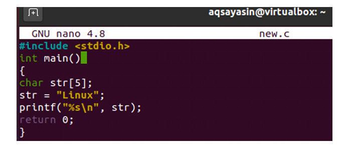 Теперь обновите свой код спомощью представленного ниже кода вфайле