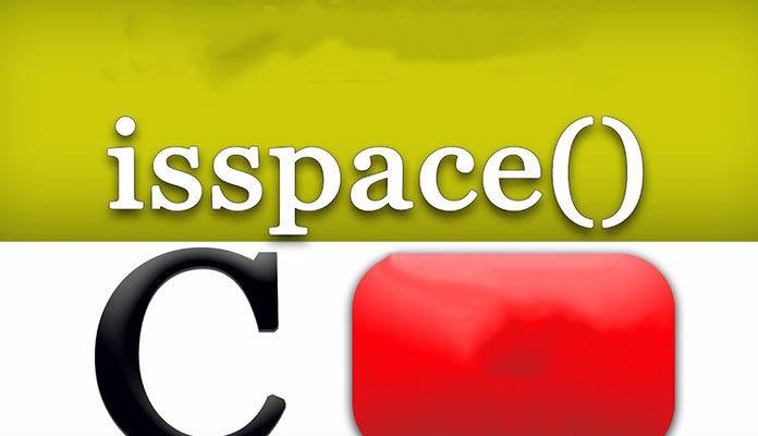 C isspace
