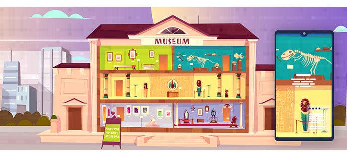 Например, музеи могут предоставить гидов наместах сиспользованием технологииAR