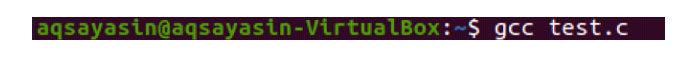 Перед выполнением требуется компиляция кода