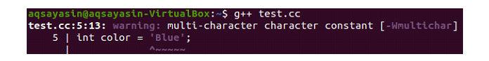 Скомпилируйте код C ++ спомощью компилятора g ++