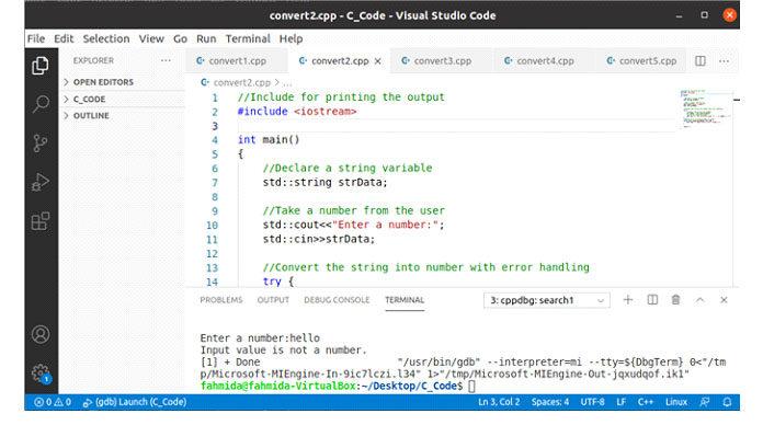 Следующий вывод появится, если после выполнения кода будет принято приветствие вкачестве ввода