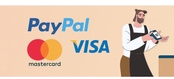 Такие компании, как PayPal, Visa, MasterCard