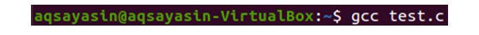 Теперь файл сохранен, нам нужно скомпилировать код