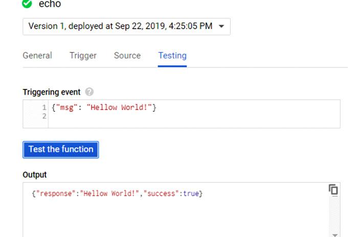 езультатом этого теста является объект JSON, возвращенный вдиалоговом окне