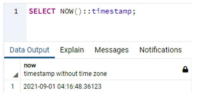Часто пользователь хочет проверить временную метку следующих часов подряд вPostgreSQL