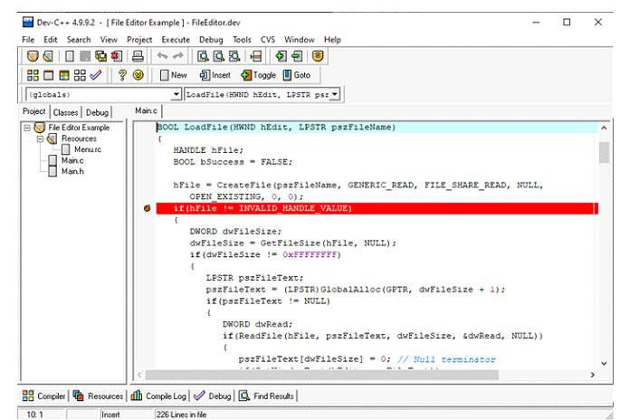 Dev-C ++