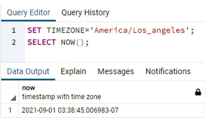 Многие пользователи PostgreSQL нехотят видеть часовой пояс