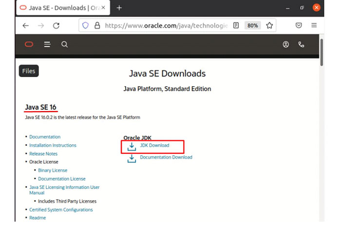 Прокрутите пакеты, пока ненайдете «Linux x64 Debian Package»