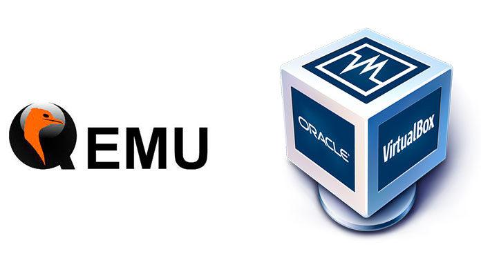 QEMU (Quick EMUlator) или VirtualBox