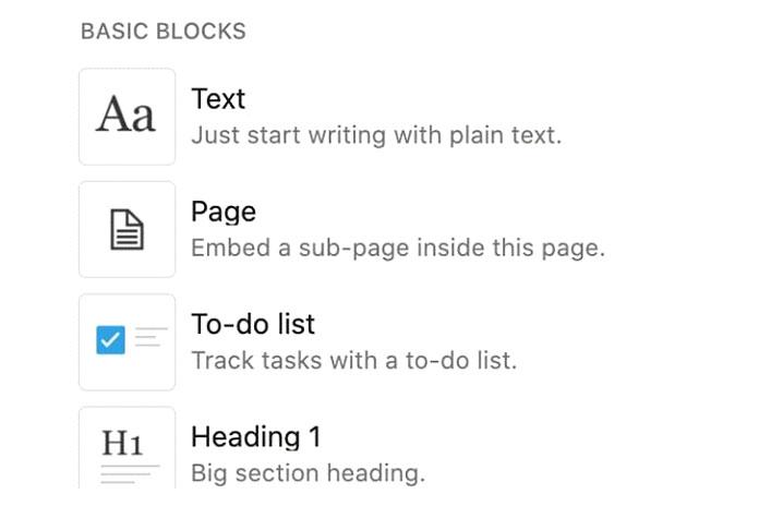 Вэтой статье мыбудем придерживаться основных типов блоков